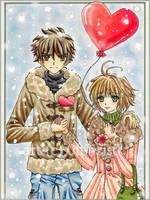 My sweet Valentine by 0Febris0