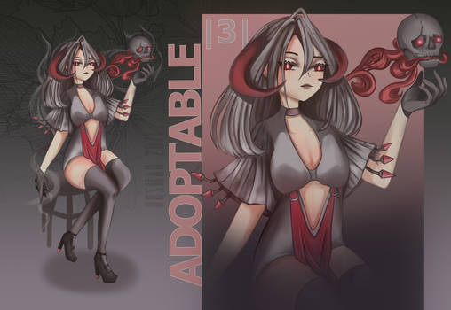 .CLOSED. Adopt Auction |3| Lady of Shadows
