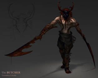 The Butcher by ZombieLady