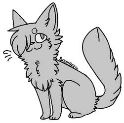 Free Cat Lineart by SnogPoffin