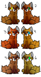 5/4 Point Red Panda Adopts [OPEN] by SnogPoffin