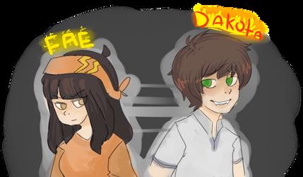 Dakota and Fae by SnogPoffin