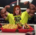 Big girls gotta eat