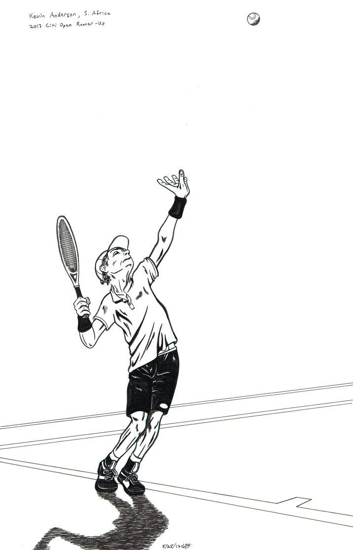 Kevin Anderson by byakurai1313