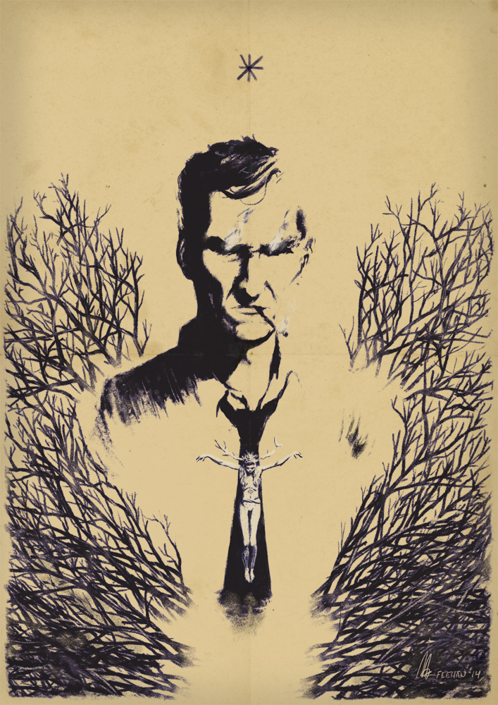 Rustin cohle by mikefeehan on deviantart for True detective tattoo