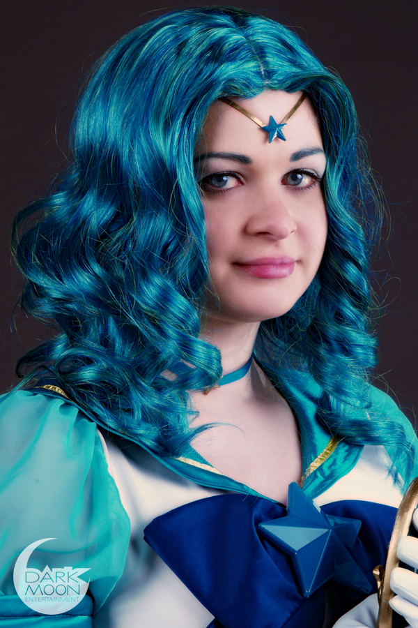 Sailor Neptune - Close Up by DarkMoonProject