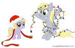 Derpy and Dinky's Christmas Lights