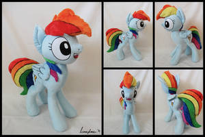 Rainbow Dash Presents by velocimaidfoxicorn
