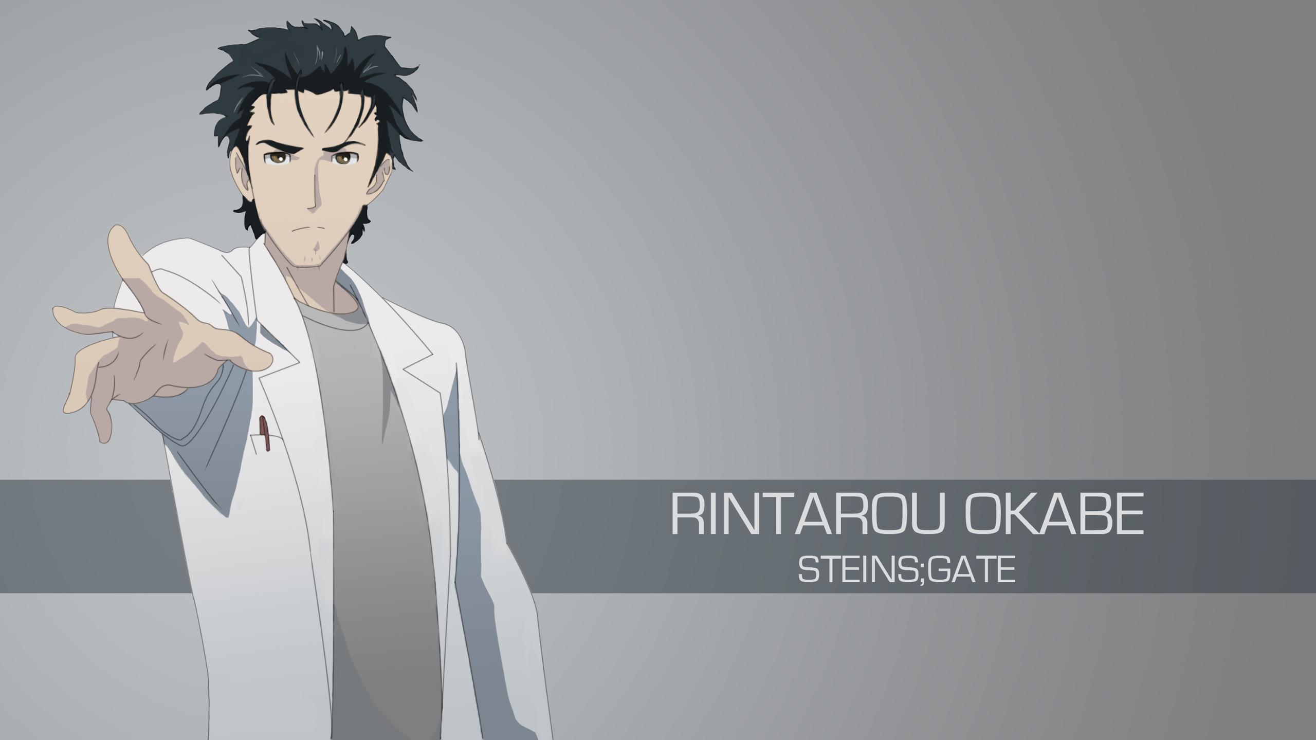 Steins Gate-Rintarou Okabe by spectralfire234 on DeviantArt