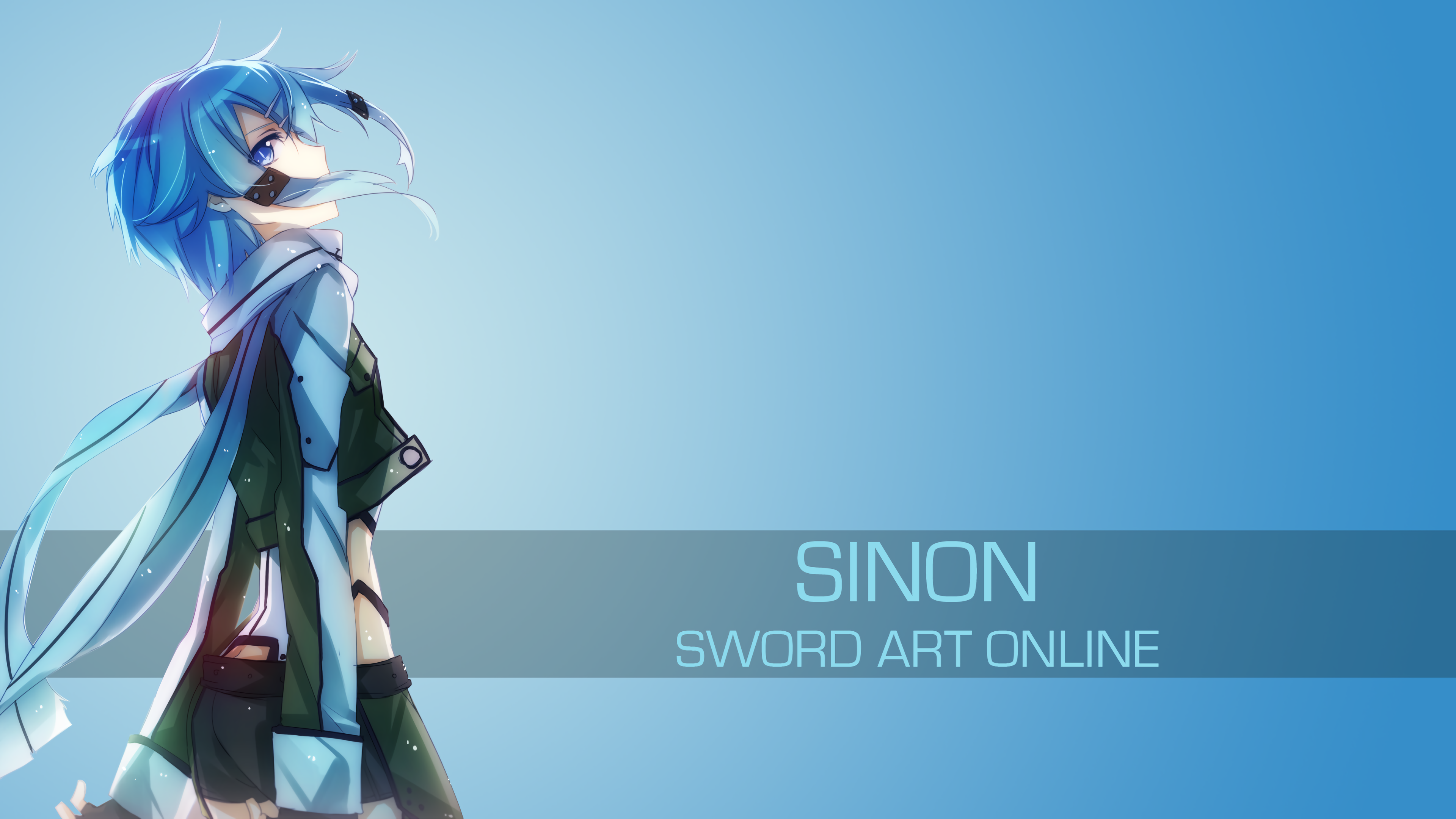 Sword Art Online-Sinon 1 by spectralfire234 on DeviantArt