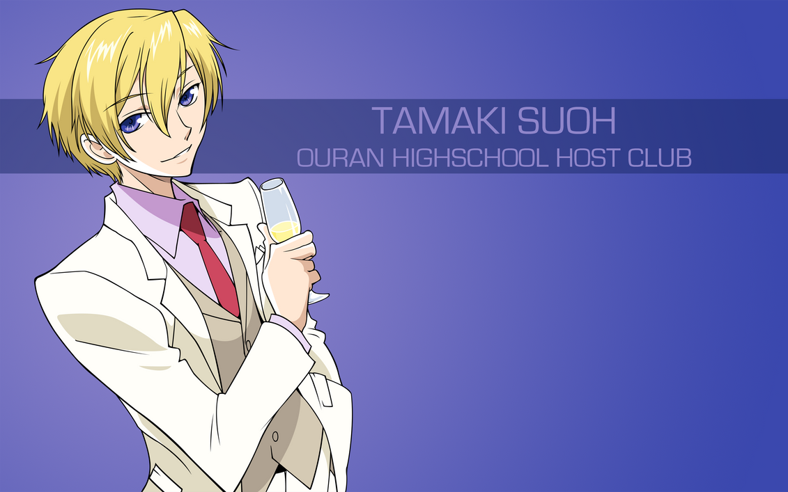 Ouran Highschool Host Club Tamaki Suoh By Spectralfire234