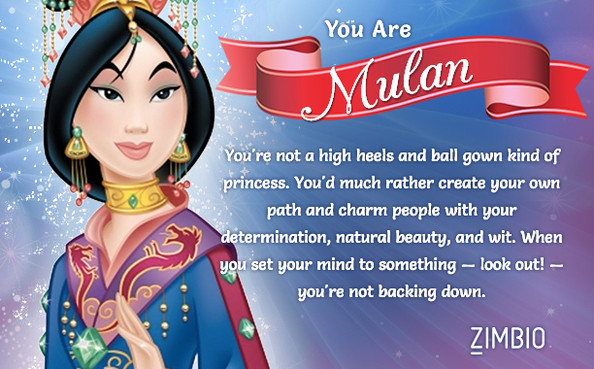 ZIMBIO: Which Disney Princess Are You Quiz 1 By ...