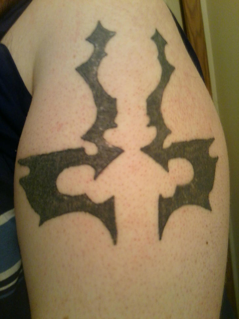 Legacy of Kain Tattoo: Raziel's Symbol by Michaelthevampire7