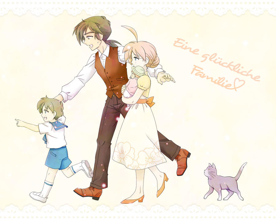 Eine glueckliche Familie by Mangaka-chan