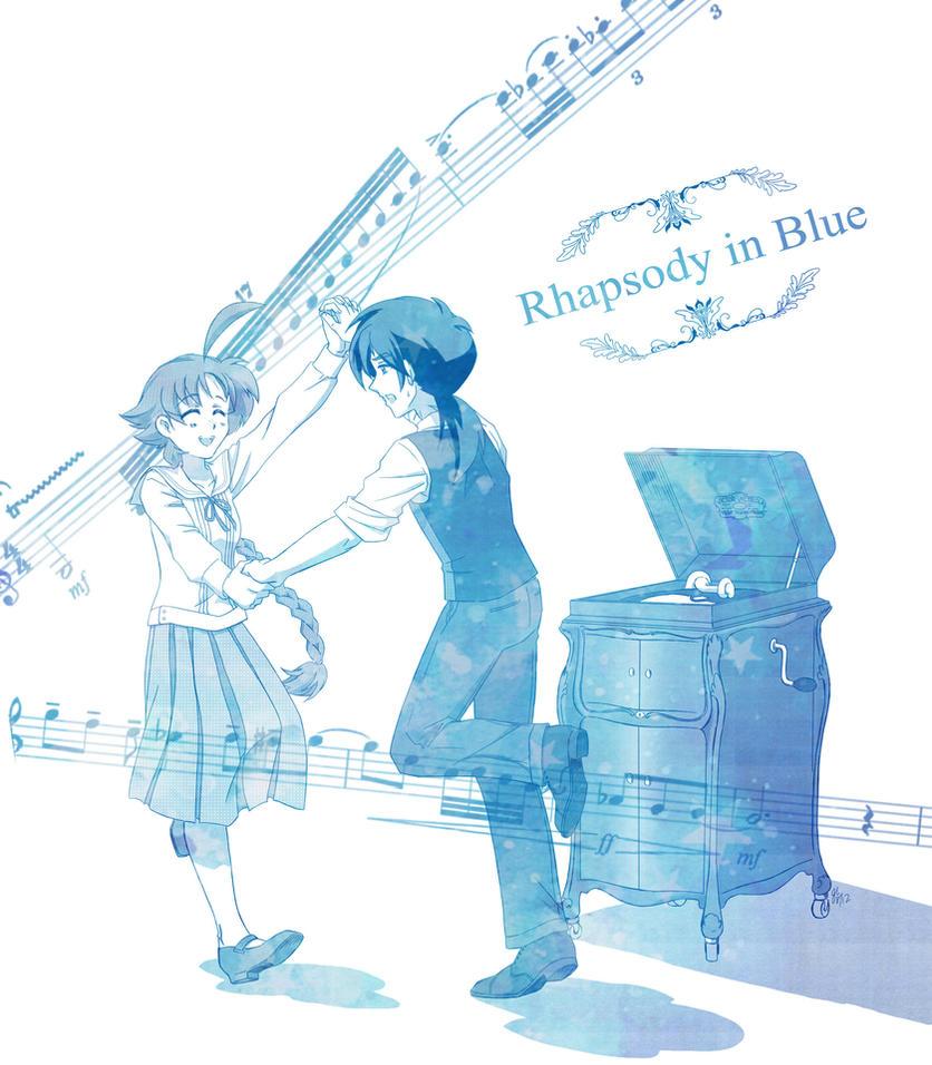 Rhapsody in Blue by Mangaka-chan