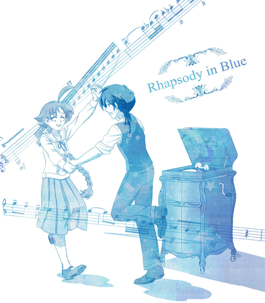 Rhapsody in Blue by Mangaka-chan