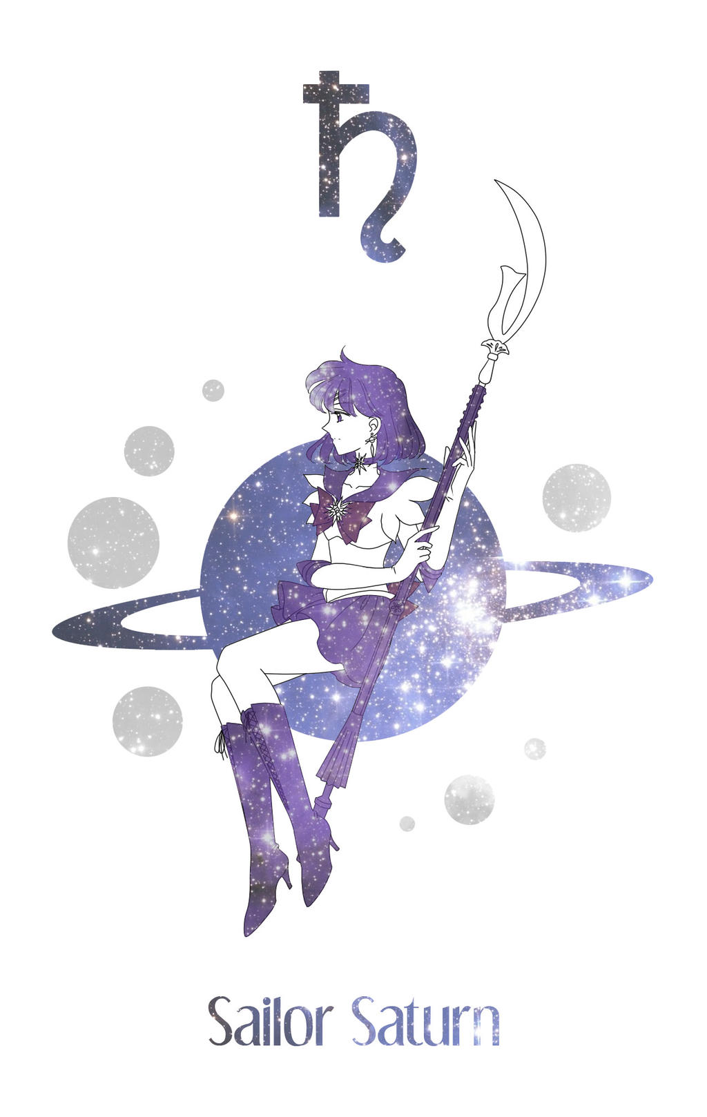Sailor Saturn by Mangaka-chan