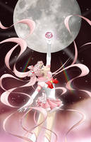 Sailor Moon Pink Crystal by Mangaka-chan