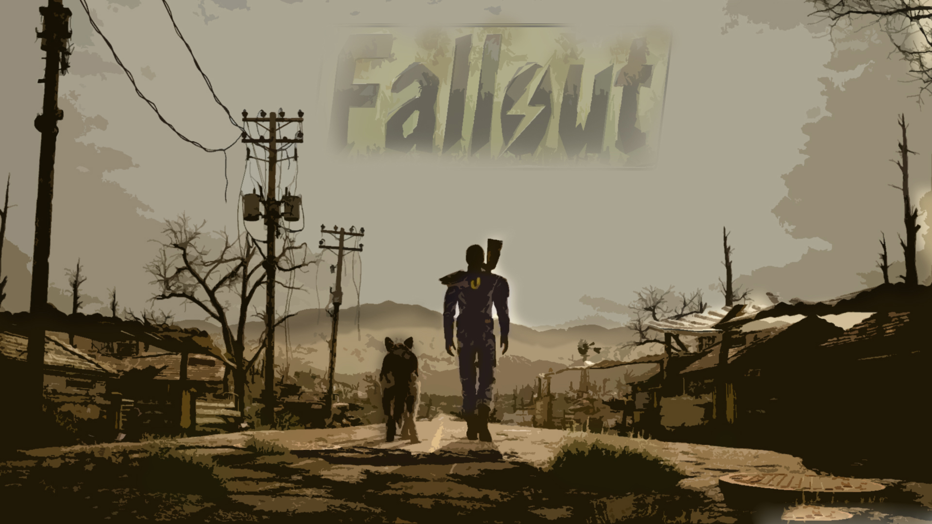 Fallout 4 Wallpaper By Logantop4344