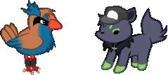 Pidgkney and Norua by NinjaFlyingSheep