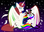 Laurn Faust and Lightning Bliss by Lightning-Bliss