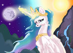 Celestia's First Day and Night Shift