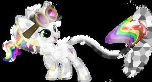 Crystal Pony Lightning Bliss