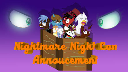 Nightmare Nights Con Annoucement by Lightning-Bliss