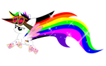 Rainbow Powered Blissy