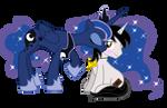 Luna Kisses Yugioh Brony Commission
