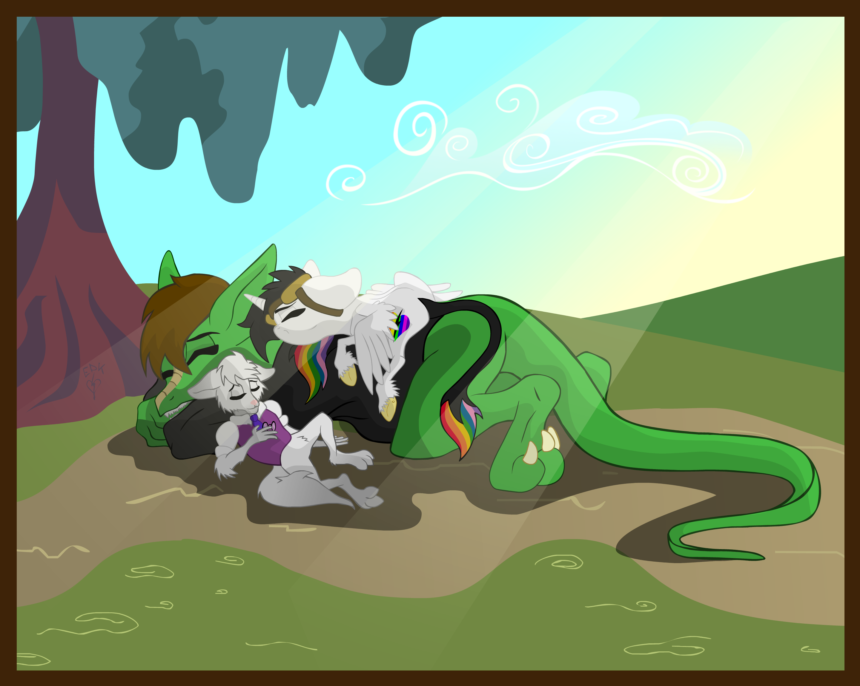 Late Afternoon Nap by Lightning-Bliss