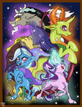 PRINT - Trixie Discord Thorax Starlight