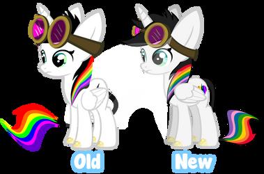 Old vs New Bliss Update by Lightning-Bliss