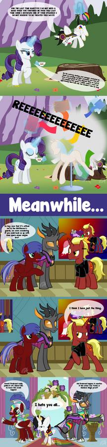 Rainbow Guard Coronation Comic