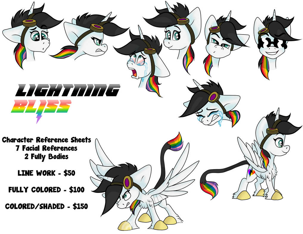 Lightning Bliss Reference Commission Guide