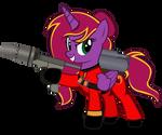 TF2 Red Pyro Diamond Chiv by Lightning-Bliss