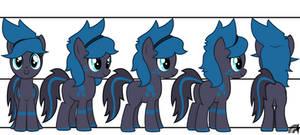Neo Anton Pony Character Design Commission