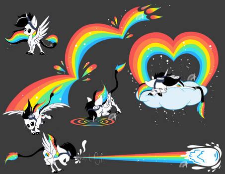 Rainbow Inspiration Doodles