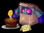 Happy Birthday Gremlin Commission