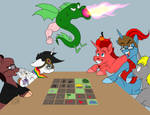 Lets Play Trogdor by Lightning-Bliss