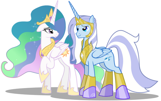 Princess Celestia and Glaciem Commission