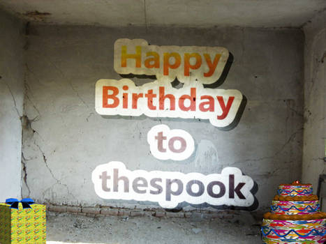 Happy Birthday to the spook
