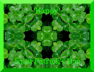 Happy St Patrick's Day by Ambruno