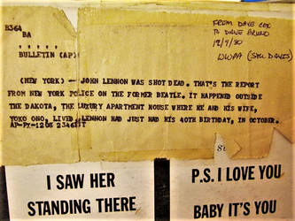 John Lennon's Bullitin by Ambruno