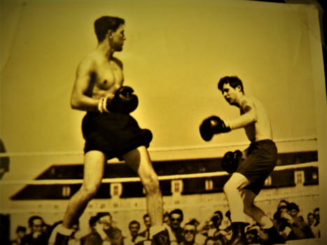 Army light weight boxer 1947