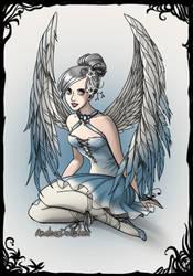 Winter fairy by amanmangor