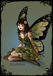 Spring fairy by amanmangor