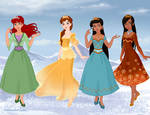 Renaisance Princesses- Frozen style