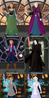 Frozen and Star Wars