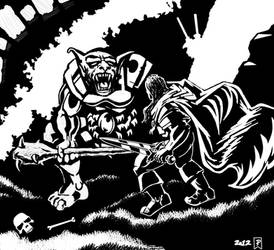 the king and the beast by patroclus2009